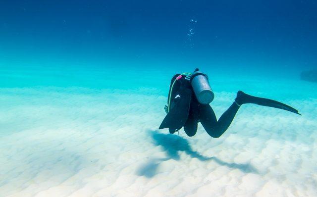 水中での恐怖感