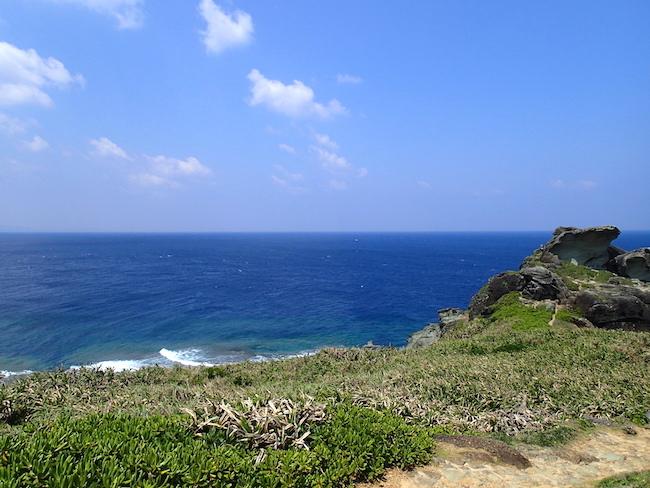 石垣島御神崎灯台からの眺望