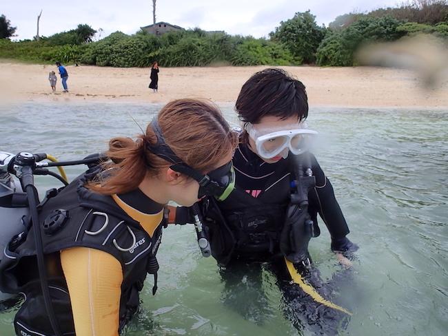 【石垣島】ビーチ体験ダイビング2018.4.16