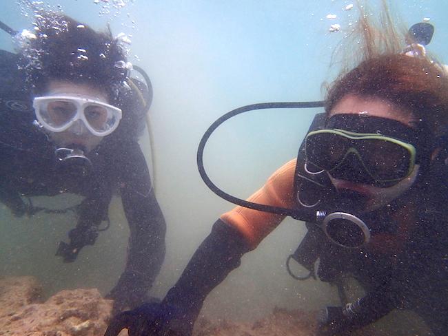 【石垣島】ビーチ体験ダイビング水中ペア2018.4.16