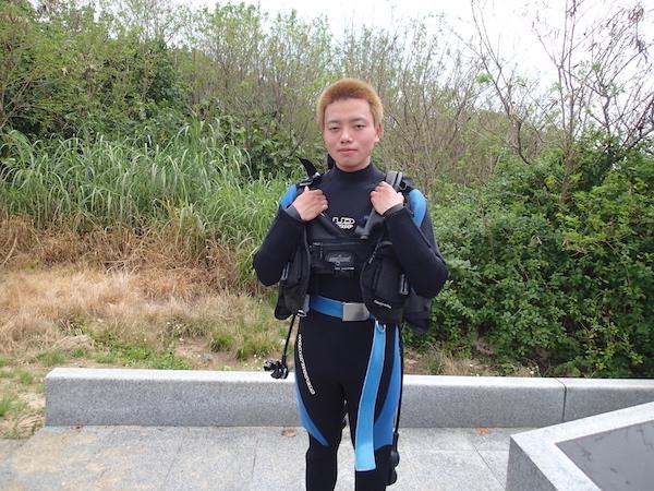 【石垣島】オープンウォーター講習H様2018年4月24日