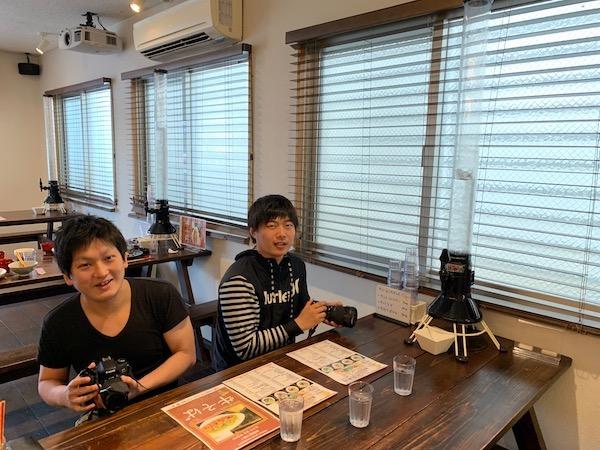 石垣島PADIオープンウォーターのランチ