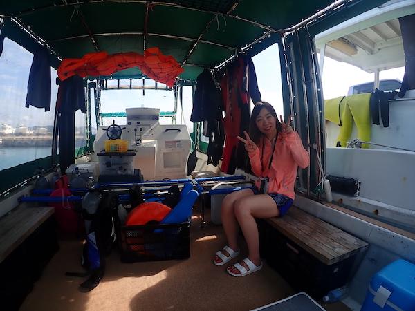 石垣島体験ダイビング2019年3月30日