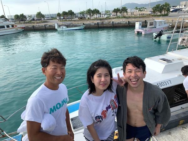 石垣島体験ダイビング黒島2019年4月10日