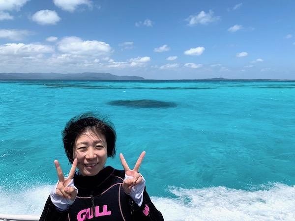 石垣島オープンウォーター講習2019年4月17日