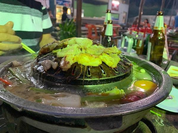 タイ(タオ島)ムーガタ鍋2