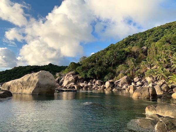 タイ(タオ島)の朝焼け