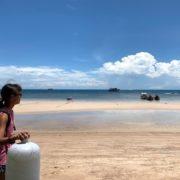 タイ(タオ島)のビーチ
