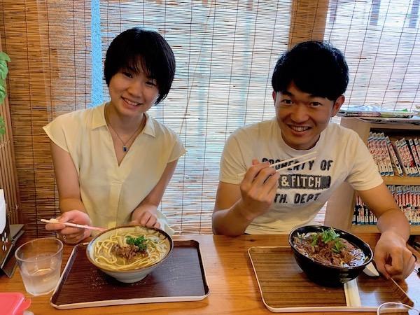 石垣島PADIオープンウォーターライセンス講習のランチ2019年5月29日