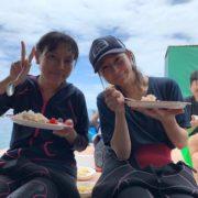 石垣島PADIオープンウォーター講習のランチ2019年6月16日