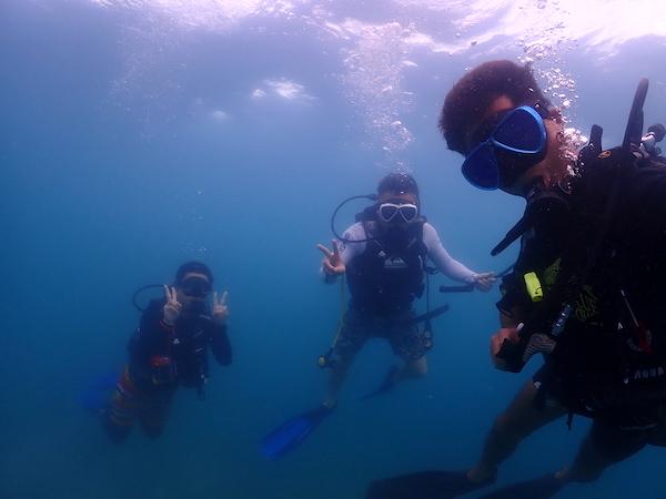 タイ(タオ島)ダイビング写真