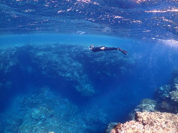石垣島体験ダイビングのシュノーケリング2019年6月9日