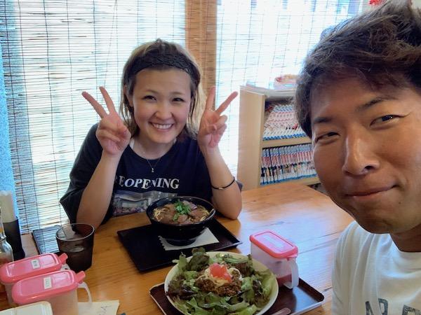 沖縄県石垣島ダイビング後の食事あらかわ食堂2019年7月17日