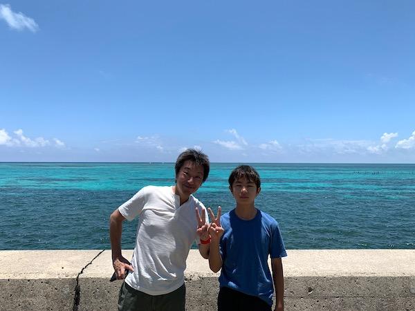 沖縄県石垣島PADIオープンウォーターの昼休み2019年7月23日
