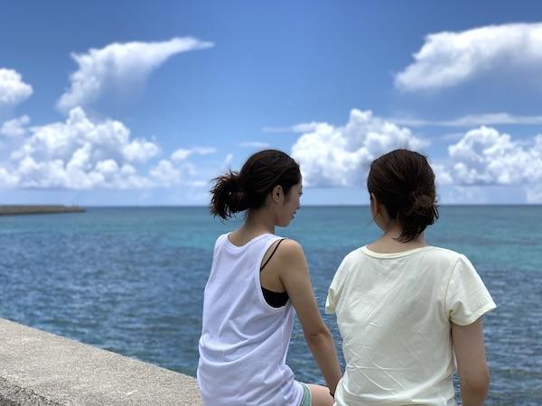 沖縄県石垣島PADIオープンウォーターの昼休み2019年7月28日