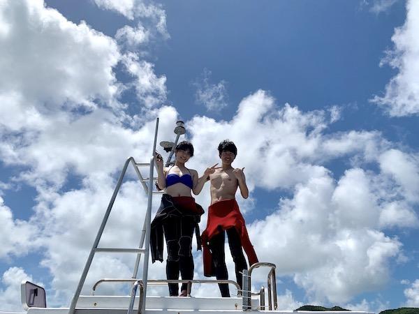 沖縄県石垣島FUNダイビングのランチ2019年9月