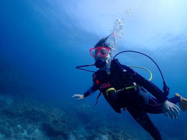 沖縄県石垣島体験ダイビング2019年9月