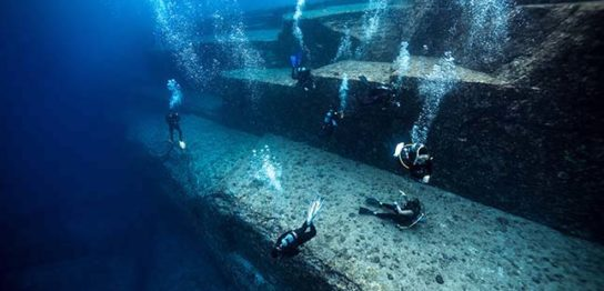 【与那国島】ダイビング海底遺跡