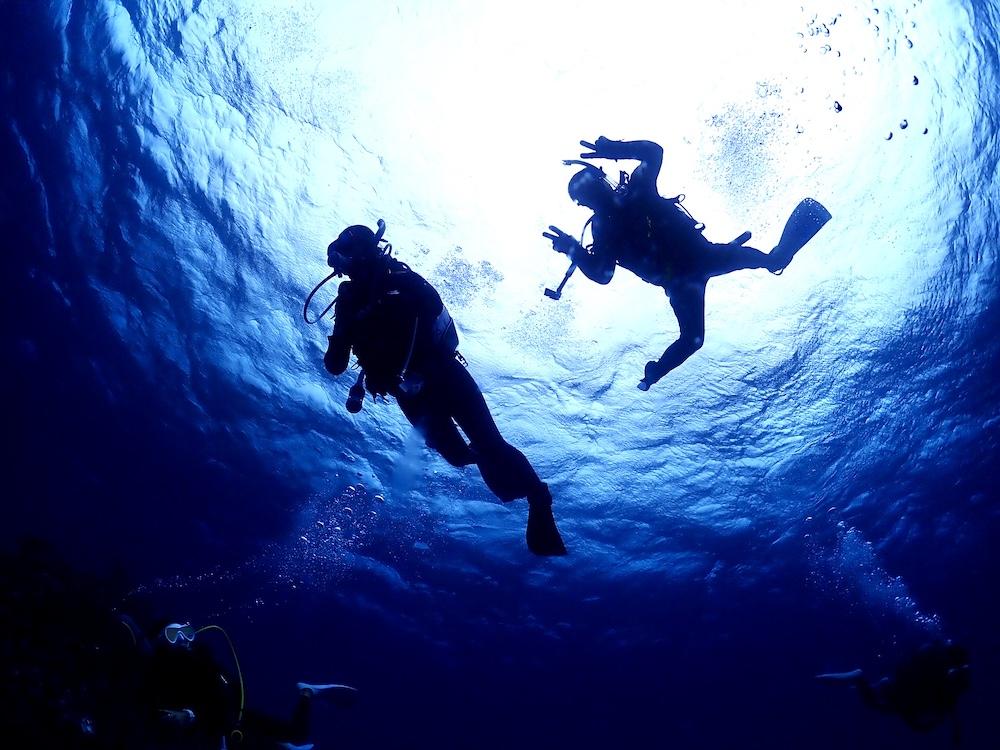 石垣島PADIダイビングライセンスであるアドバンスコースの写真です。
