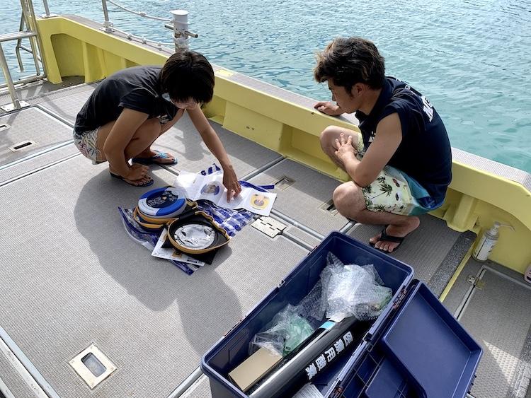 MOANAダイビングカレッジ石垣島AED講習