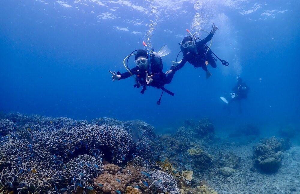 2021年GW名蔵湾にてライセンス講習【MOANAダイビングカレッジ石垣島】